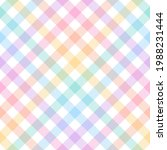 vichy check plaid pattern for... | Shutterstock .eps vector #1988231444