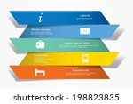 vector infographic composition... | Shutterstock .eps vector #198823835