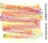 crayon draw on white paper...   Shutterstock . vector #1988274731