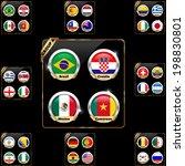 soccer championship 2014 group... | Shutterstock .eps vector #198830801