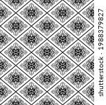 ethnic seamless black pattern.... | Shutterstock .eps vector #1988379827
