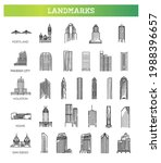simple linear vector icon set... | Shutterstock .eps vector #1988396657