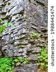 Stacks Of Limestone Rock Layers