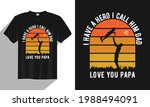 love you papa father day t... | Shutterstock .eps vector #1988494091