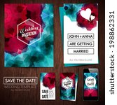save the date for personal... | Shutterstock .eps vector #198862331