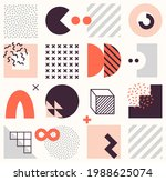 vector seamless pattern with... | Shutterstock .eps vector #1988625074