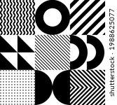 minimalistic geometric seamless ... | Shutterstock .eps vector #1988625077