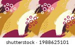 seamless pattern with... | Shutterstock .eps vector #1988625101