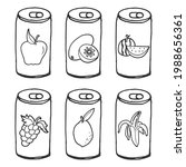 Sketch Of Beverage Can...