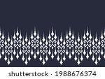 ethnic vector abstract blue... | Shutterstock .eps vector #1988676374