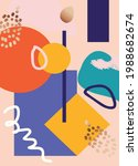 abstract art cover pattern flat ...   Shutterstock .eps vector #1988682674