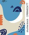abstract art cover pattern flat ...   Shutterstock .eps vector #1988682677