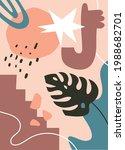 abstract art cover pattern flat ...   Shutterstock .eps vector #1988682701