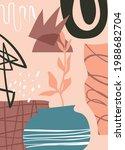 abstract art cover pattern flat ...   Shutterstock .eps vector #1988682704