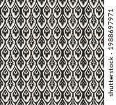 seamless black white woven...   Shutterstock . vector #1988697971