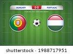 scoreboard broadcast template... | Shutterstock .eps vector #1988717951
