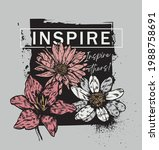 vintage floral romantic wild...   Shutterstock .eps vector #1988758691