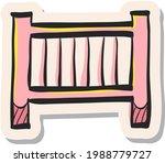 hand drawn hotel symbol icon in ...   Shutterstock .eps vector #1988779727
