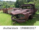 The Old Rusted Large Haulage...