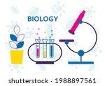biology science education... | Shutterstock .eps vector #1988897561