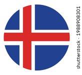 iceland flag badge vector... | Shutterstock .eps vector #1988908301