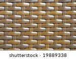 wickerwork background | Shutterstock . vector #19889338