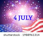 independence day  fourth of...   Shutterstock .eps vector #1988961314