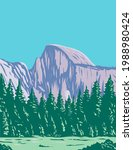 the half dome at the eastern... | Shutterstock .eps vector #1988980424