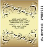 abstract vintage banner   Shutterstock .eps vector #19889851