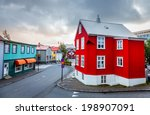 a street in central part of... | Shutterstock . vector #198907091
