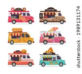 set of isolated street food... | Shutterstock .eps vector #1989131174