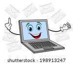 merry notebook get much letter  ... | Shutterstock .eps vector #198913247