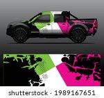 truck decal graphic wrap vector ... | Shutterstock .eps vector #1989167651
