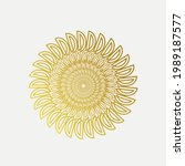 sunflower logo.decorative...   Shutterstock .eps vector #1989187577