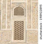 beautiful windows with... | Shutterstock . vector #198922895