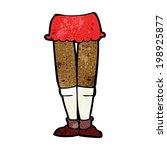 cartoon female legs | Shutterstock . vector #198925877