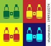 Pop Art Binoculars Icon...