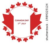 Canada Day Vector Template. 1st ...