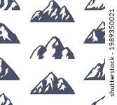 seamless pattern hand drawn...   Shutterstock . vector #1989350021