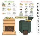 infographic of garden...   Shutterstock .eps vector #1989352817
