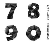 original black glossy font by...