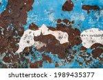 metal abstract texture. surface ... | Shutterstock . vector #1989435377