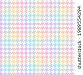 check plaid pattern. pastel... | Shutterstock .eps vector #1989554294