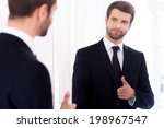 young and successful. handsome... | Shutterstock . vector #198967547