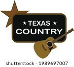 texas country music...   Shutterstock .eps vector #1989697007