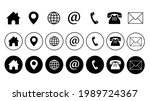 web icon set. website set icon...   Shutterstock .eps vector #1989724367