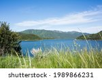 Palisades Reservoir in Idaho.  Summer