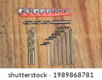 Set Of Drill Bits And...