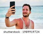 Portrait Caucasian Man With A...