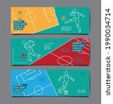 football tournament  sport... | Shutterstock .eps vector #1990034714